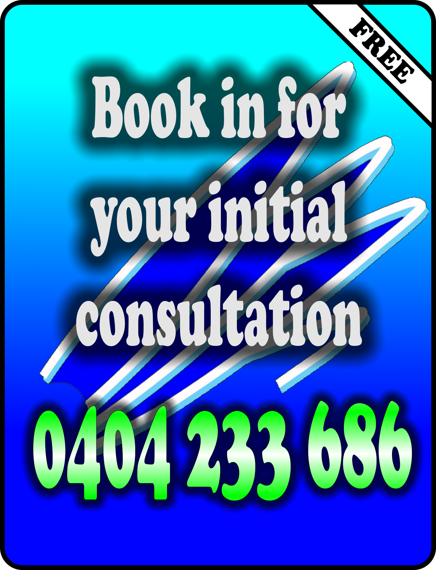 Book in for your initial consultation